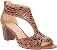Clarks Artisan Perforated Leather Sandals - Deloria Liv - A306059