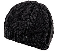 Nirvanna Designs Soft Wool Cable Beanie with Fleece - A331059