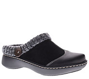 Spring Step LArtiste Leather Clogs - Svetlana - A334359