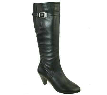david tate wide calf leather boots 18