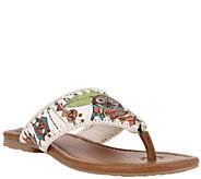 Sakroots Thong Sandals - Shana - A336559