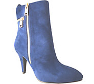 Bellini Mid-Calf Boots with Zipper Details - Claudia - A337359