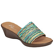 A2 by Aerosoles Wedge Slide Sandals - Say Yes - A339559