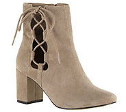 Bella Vita Leather or Suede Ankle Boots - Kirby - A341159