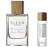 CLEAN Reserve Warm Cotton Reserve Blend EDP andPen Spray Duo - A363359