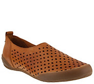 Spring Step Leather Slip-On Loafers - Hena - A364159