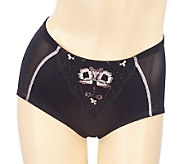 AngelLove Satin Applique Light Control Brief - A203860