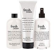 philosophy fresh cream layering body trio - A260860