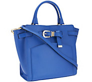 Marc Fisher Diana Smooth Leather Belted Shopper - A264460