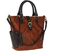 Tignanello Glazed Vintage Embossed Leather Shopper - A269260