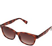 LOGO by Lori Goldstein Modified Wayfarer Sunglasses - A277560