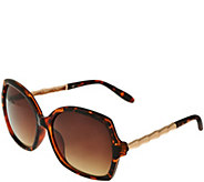 C. Wonder Sunglasses with Bamboo Detail - A278760