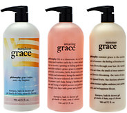 philosophy super-size state of summer shower gel trio - A279560