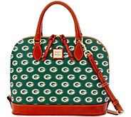 Dooney & Bourke NFL Packers Zip Zip Satchel - A285760
