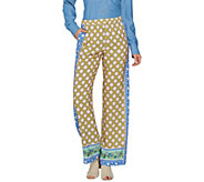 C. Wonder Regular Engineered Print Woven Pull-On Pants - A287460