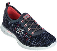 As Is Skechers Skech-Knit Space-Dyed Bungee Slip-ons - A289660
