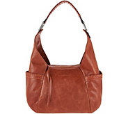 As Is Aimee Kestenberg Vintage Leather Triple Entry Hobo - Laredo - A289860