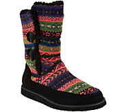 As Is Cuddl Duds Foldover Boots with Faux Fur Lining - Lindsey - A293160