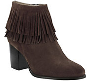 Azura by Spring Step Suede Leather Booties - Bernat - A356260