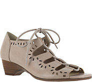Bella Vita Leather Ghillie Lace-up Sandals - Prescott - A356960