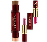 Wander Beauty Bronzer & Illuminator & WanderoutDual Lipstick - A359760