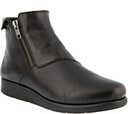 Spring Step Leather Booties - Sangha - A360760