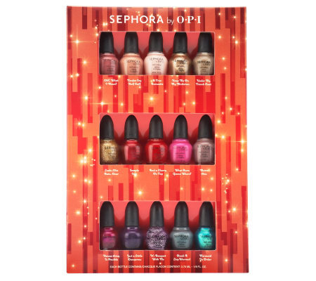 Sephora by OPI Classic &Bright 15-piece Nail Collection