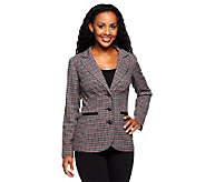 Status by Star Jones Elongated Tweed Jacket - A237761