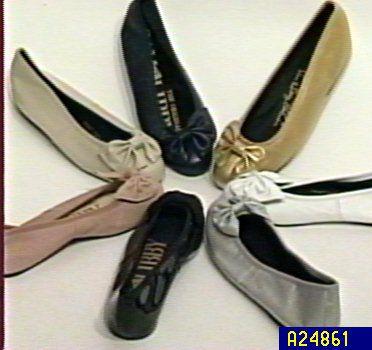 Sam Amp Libby Bow Ballet Flats Qvc Com