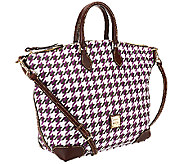 Dooney & Bourke Houndstooth Domed Satchel - A263561