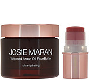 Josie Maran Argan Oil Face Butter w/ Color Stick Auto-Delivery - A280461