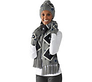 NFL Dallas Touch by Alyssa Milano Hat, Scarf and Glove Set - A281361