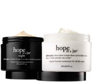 Ships 6/27 philosophy mega-size hope in a jar 8 oz am/pm duo