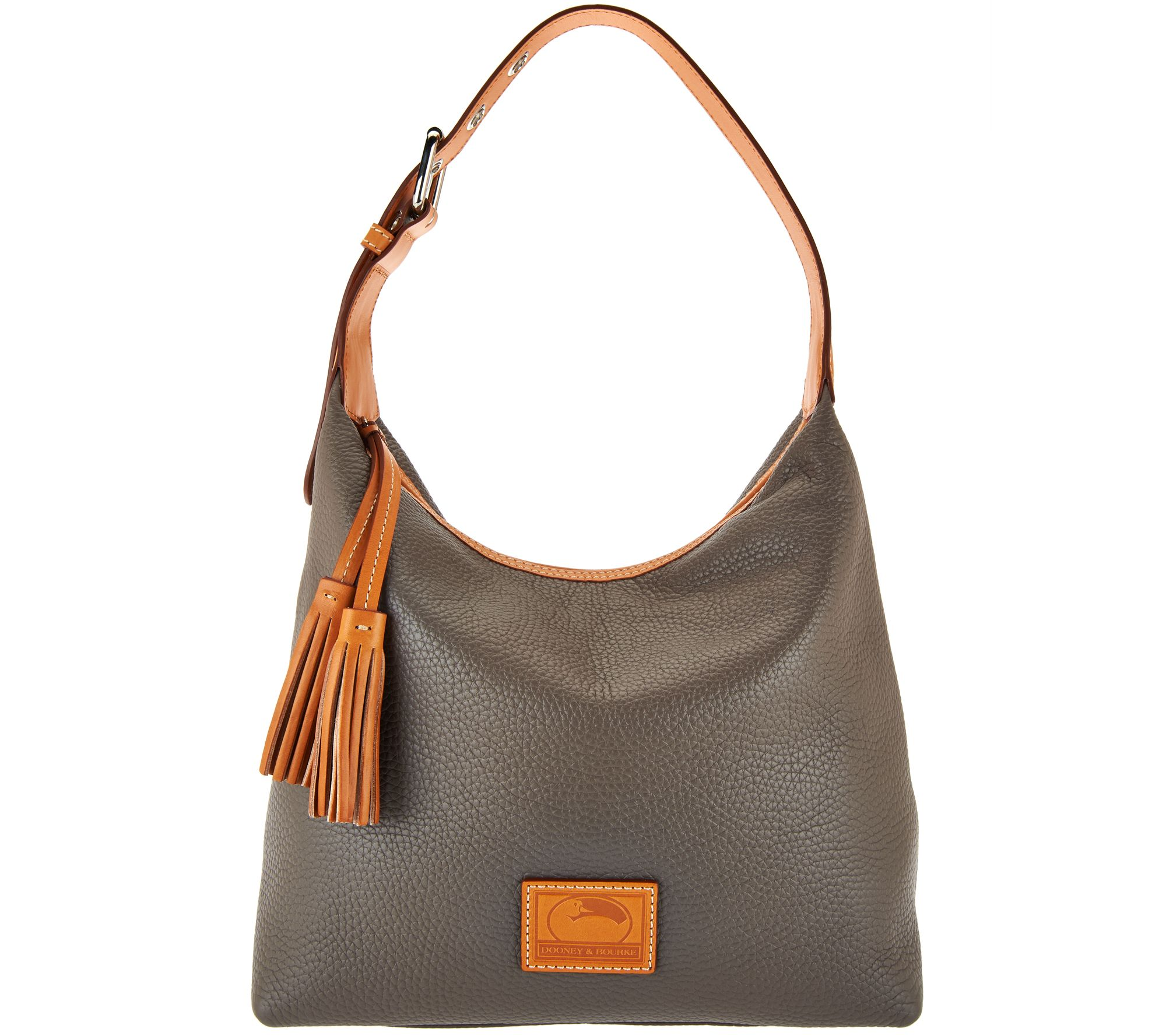 Dooney Bourke Patterson Pebble Leather Hobo Paige A289161