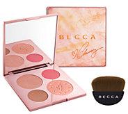 BECCA X Chrissy Teigen Glow Face Palette - A297561