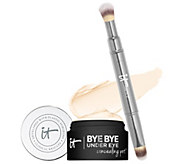 IT Cosmetics Bye Bye Under Eye Concealing Pot with Brush - A303961