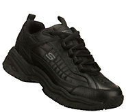 Skechers Mens Work Lace-up Sneakers - Soft Stride - Galley - A333961