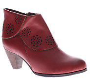 Spring Step LArtiste Leather Ankle Boots - Linguette - A334161