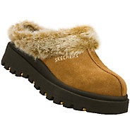 Skechers Suede Leather Clogs - Shindigs-Fortress - A335161