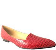 Bellini Croc Print Slip-Ons - Flora - A337361