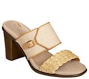 Aerosoles Heel Rest Slide Sandals - Day Dream - A339261