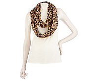 Joan Rivers Animal Print Infinity Scarf - A216962