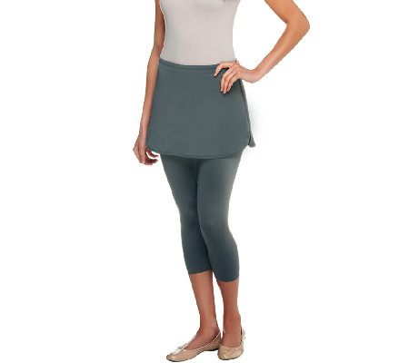 SKOOTSKIRT Capri Length Skirted Leggings