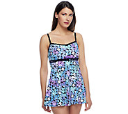 Fit 4 U Ds and Es Full Bloom Double Bow Swim Dress - A252562