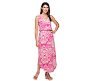 Liz Claiborne New York Rounded Hem Knit Maxi Dress - A254862