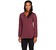 Edge by Jen Rade Zip Front Top - A258262