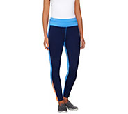 Denim & Co. Active Duo-Stretch Color-Block Leggings - A262562