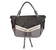 As Is V Couture by Kooba Gillian East/West Tote w/ Zipper Pulls - A264162