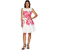 Isaac Mizrahi Live! Exploded Floral Dress - A266062