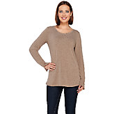 Kelly by Clinton Kelly Tee with Baby Chain Detail - A271962